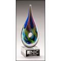 Multi-Colored Art Glass Award